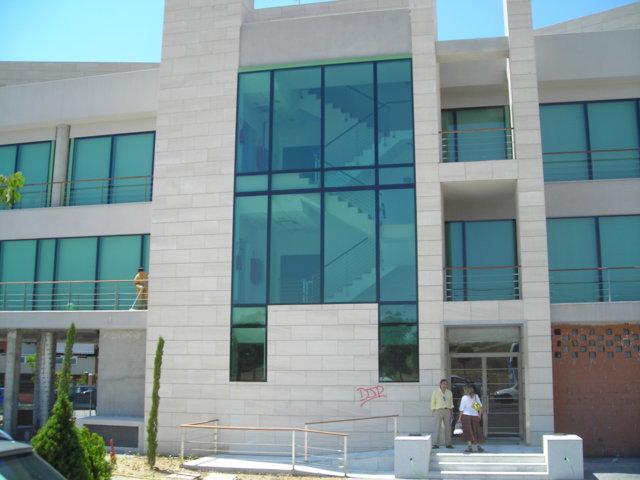 Proyecto arquitectonico edificio Bioclimatico 9