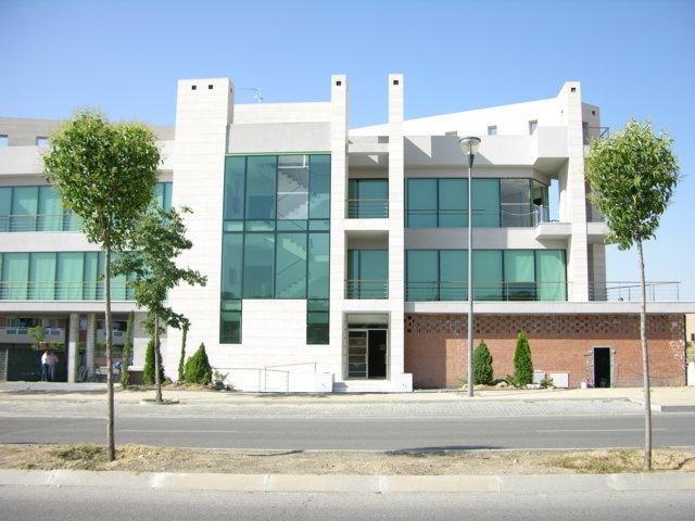 Proyecto arquitectonico edificio Bioclimatico 8