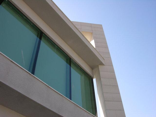 Proyecto arquitectonico edificio Bioclimatico 7