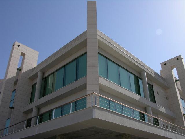 Proyecto arquitectonico edificio Bioclimatico 3