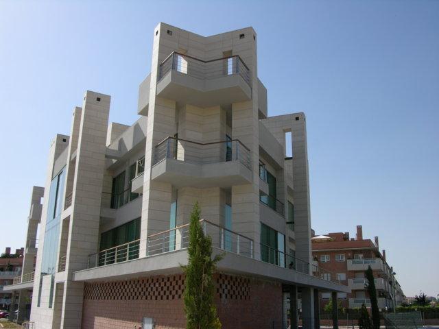 Proyecto arquitectonico edificio Bioclimatico 2