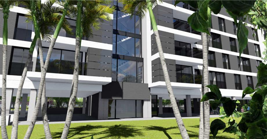 Proyecto arquitectonico urbanización 13