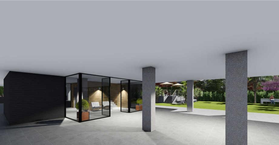 Proyecto arquitectonico urbanización 10