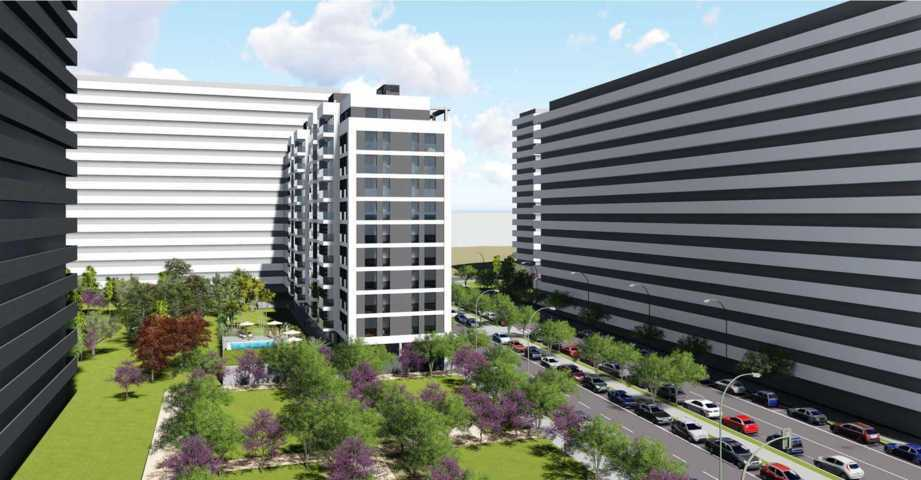 Proyecto arquitectonico urbanización 8