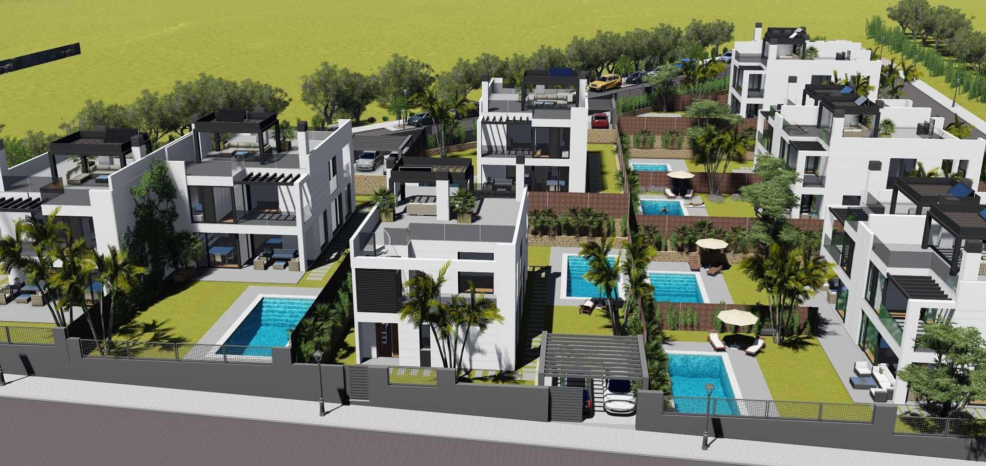Proyectos de arquitectura viviendas unifamiliares Torrelodones