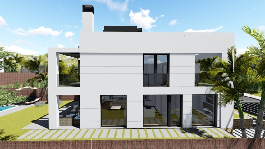 Proyectos de arquitectura viviendas unifamiliares Torrelodones 9
