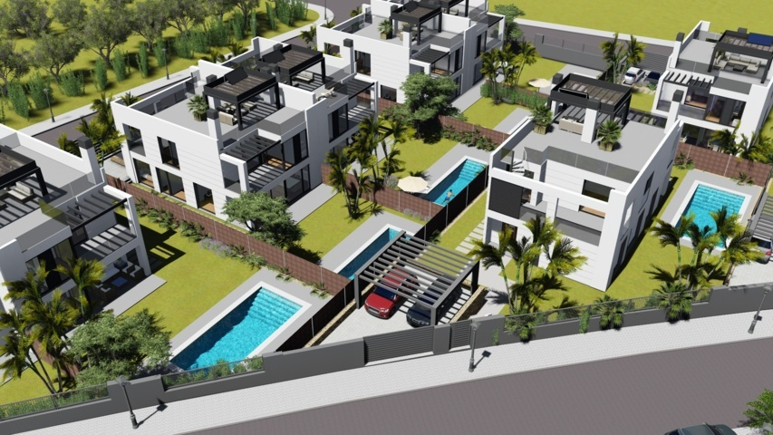 Proyectos de arquitectura viviendas unifamiliares Torrelodones 2