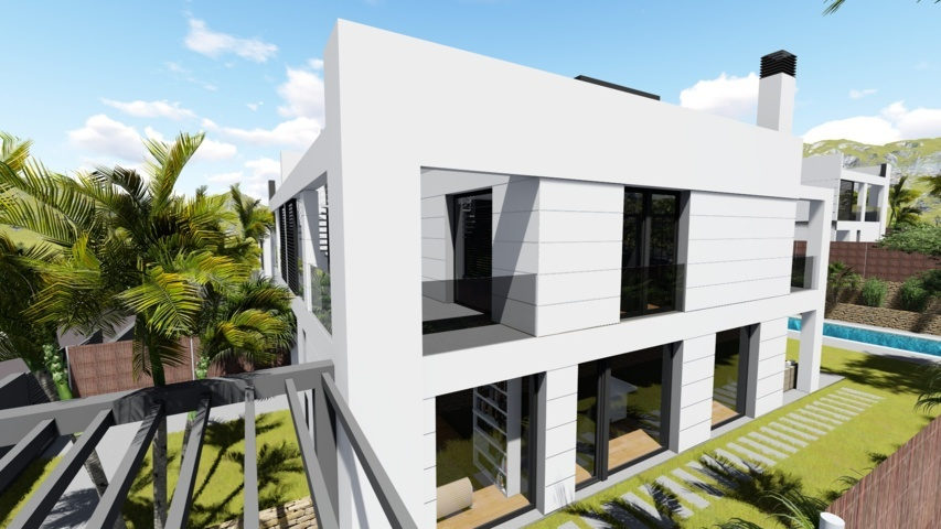 Proyectos de arquitectura viviendas unifamiliares Torrelodones 6