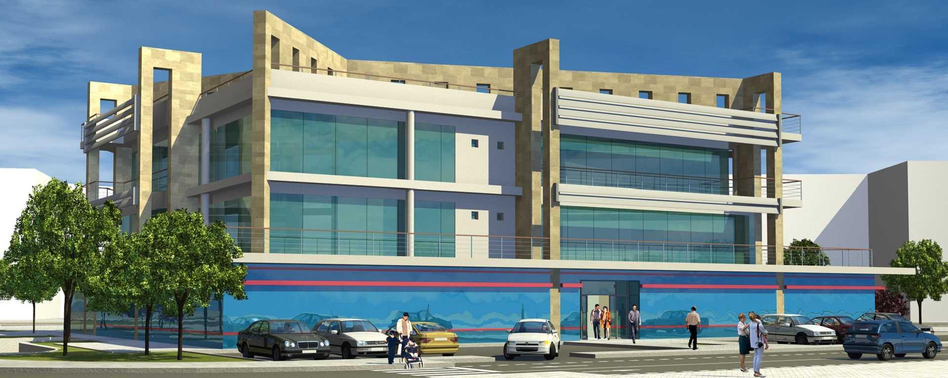 Proyecto arquitectonico edificio Bioclimatico14
