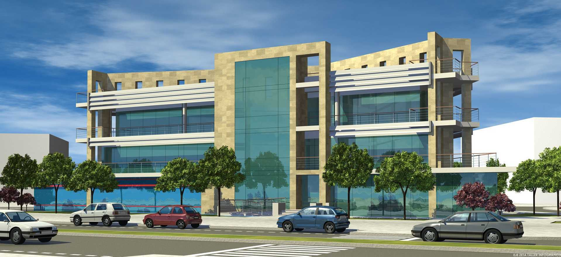 Proyecto arquitectonico edificio Bioclimatico